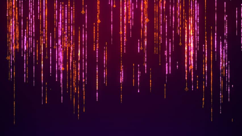 Violet Particles Glitter Glamour Rain. | Shutterstock HD Video #30549283