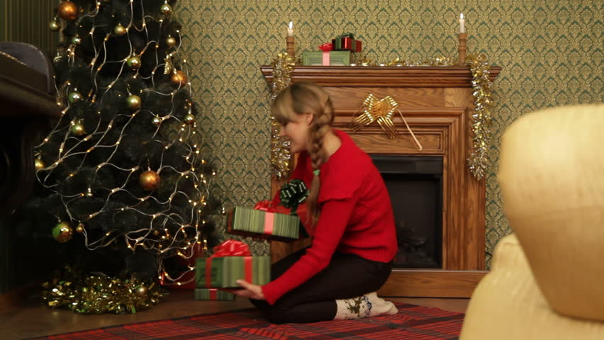 mother hiding gifts under a stock footage video 100 royalty free 3056893 shutterstock - A Christmas Mystery