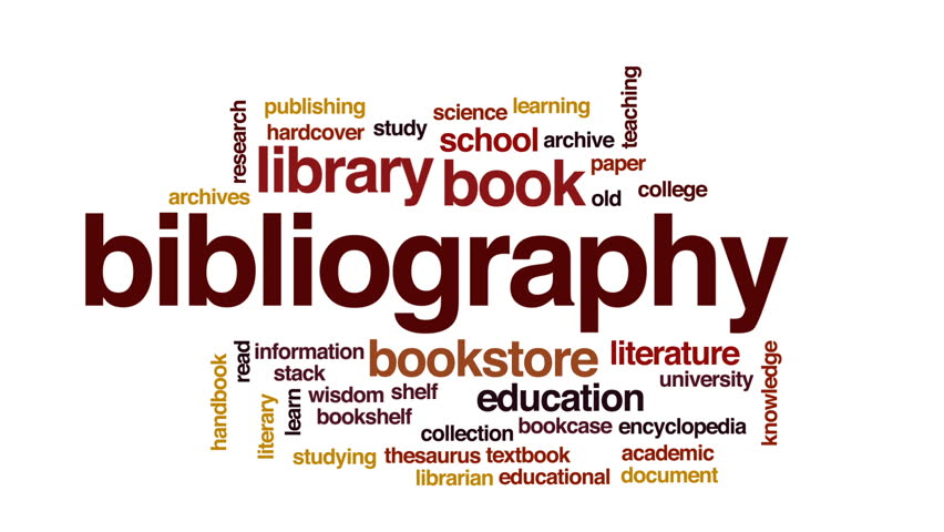 how to add bibliography in word
