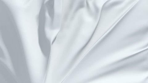 white textile drapery, fabric falling, opening, cloth, wedding unveil, motion, fashion background