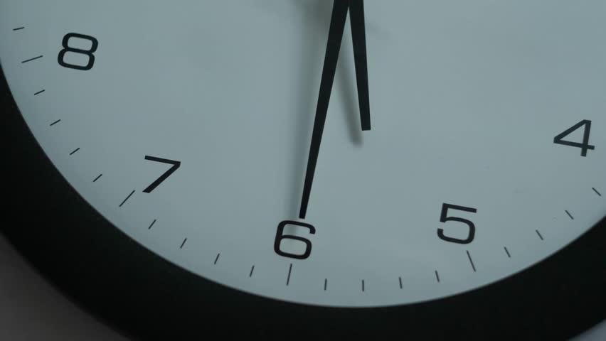 Office Clocks on White Wall - Timelapse | Shutterstock HD Video #30652285