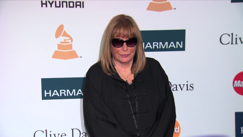Beverly Hills, CA - FEBRUARY 11, 2012: Penny Marshall, walks the red carpet at the Pre-Grammy Gala & Salute To Industry Icons 2012 held at the Beverly Hilton Hotel