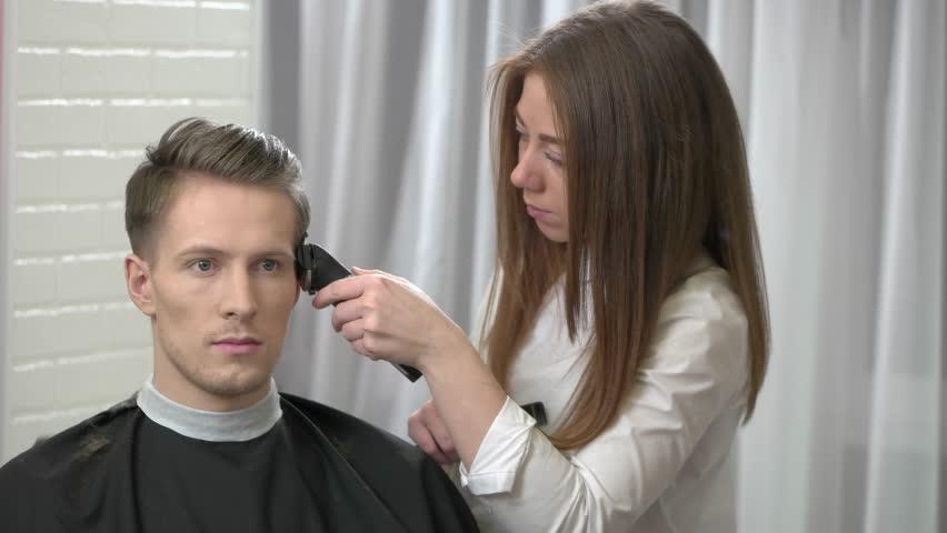 Getting A Haircut 48