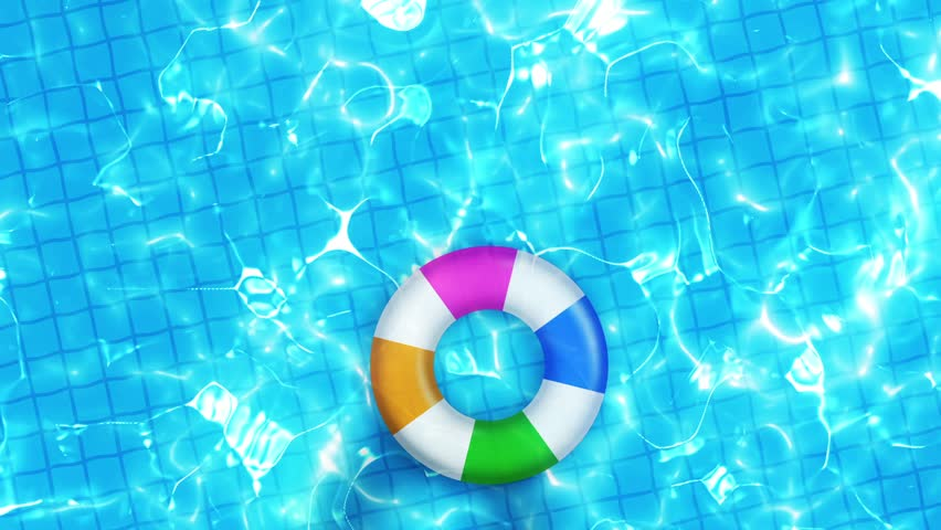 Swimming Pool Top View, Cg Stock Footage Video (100% Royalty-free ...