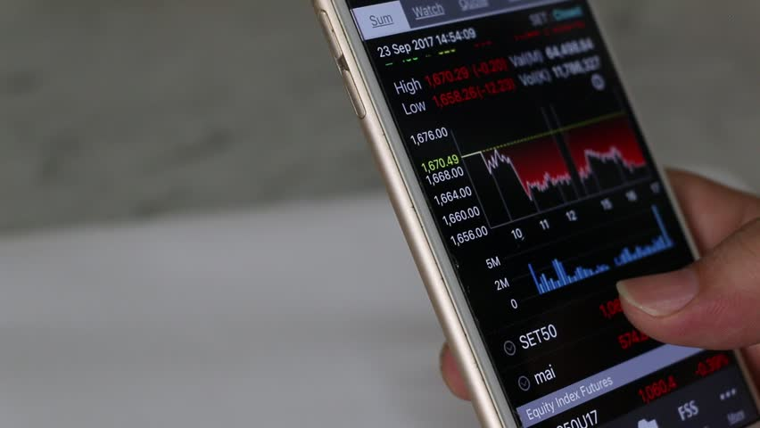 Stock exchange online trading.   Shutterstock HD Video #31028983