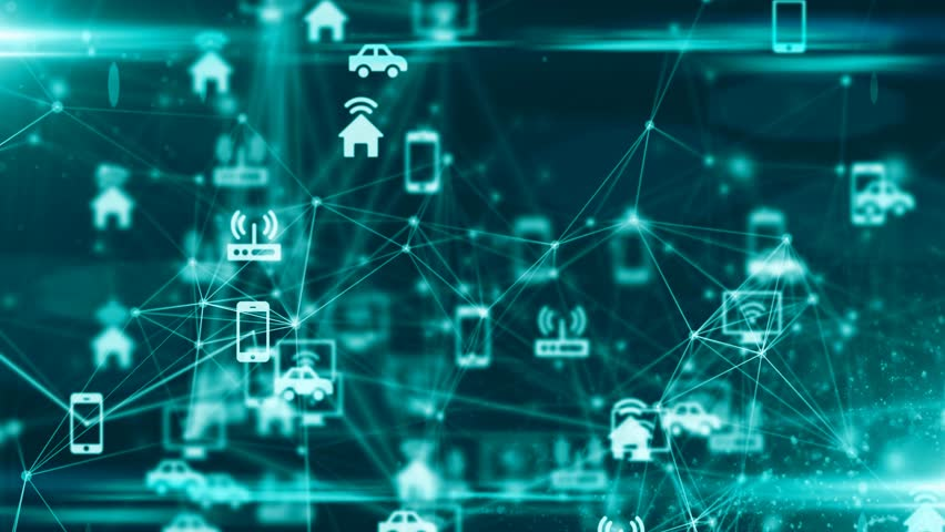 Internet of things (IoT) cloud computing information technology network | Shutterstock HD Video #31073167