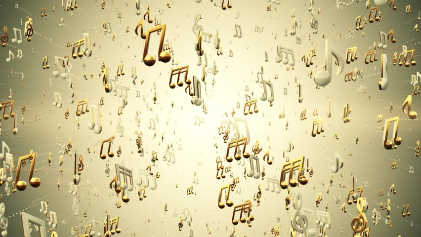 Music Notes Abstract Loop Background Stock Footage Video 100 Royalty Free 31099453 Shutterstock