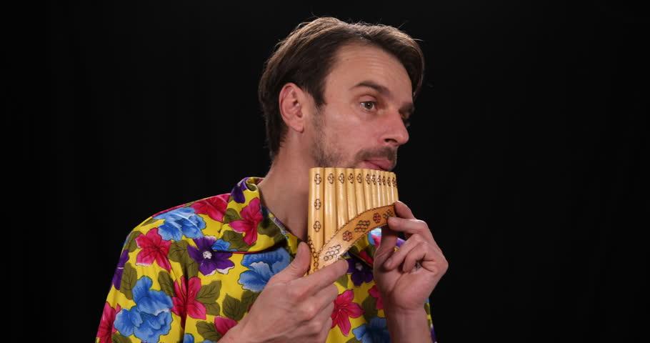 Header of pan flute