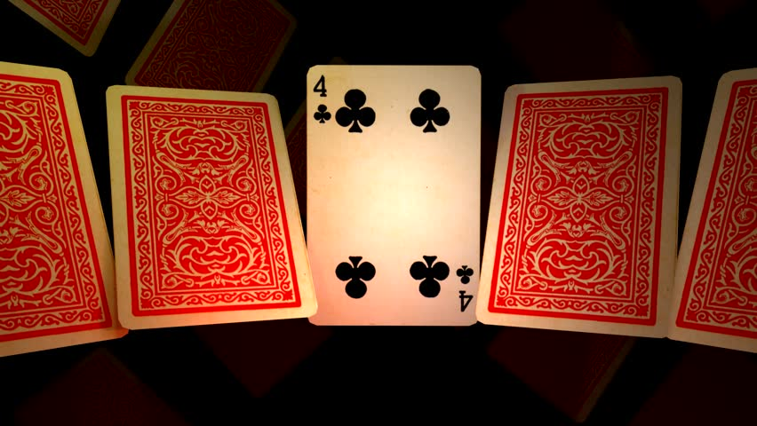 SLIDE OF POKER CARDS 1