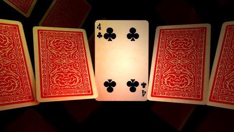 SLIDE OF POKER CARDS 1