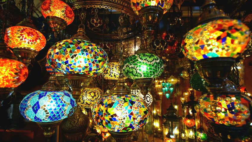 Famous Grand Bazar shop in Istanbul Turkey   Shutterstock HD Video #31229803