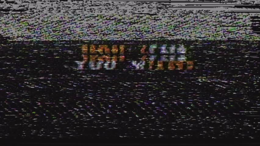 Similar to VHS Glitch OLD TV Overlay  Popular Royalty-Free
