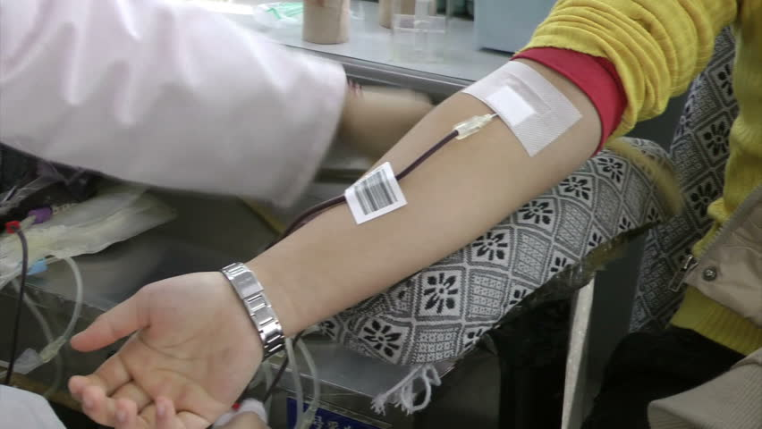 Young people in voluntary blood donation