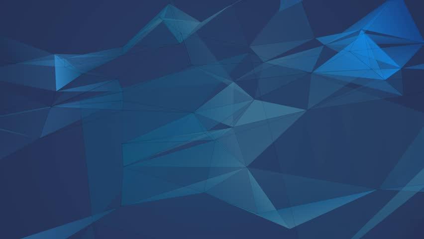 Polygon cloud wave background | Shutterstock HD Video #31427533