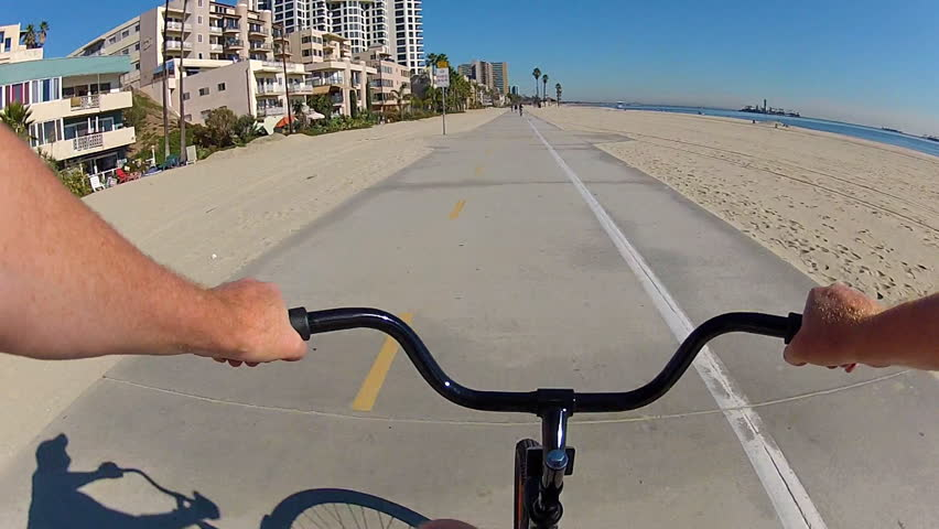 Long Beach Bicycle Riding Stock Video Footage 4k And Hd Clips Shutterstock