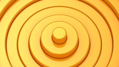 Background From Animated Circles. Abstract background, 2 in 1, loop (301-600 frames), created in 4K, 3d animation