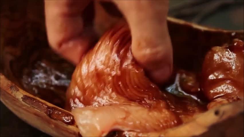 Header of marinade