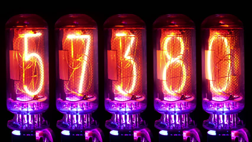 Nixie Tube Clock Stock Video Footage 4k And Hd Video Clips