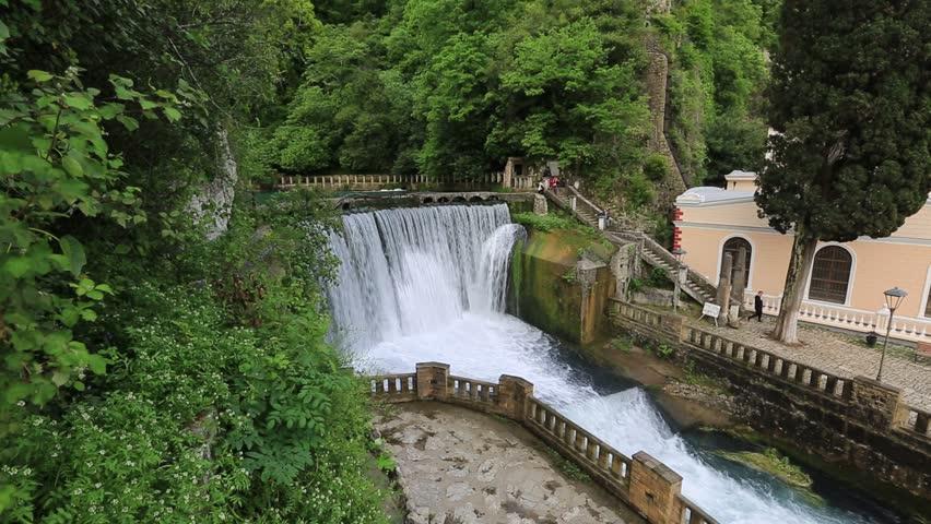 New Athos Waterfall, Abkhazia