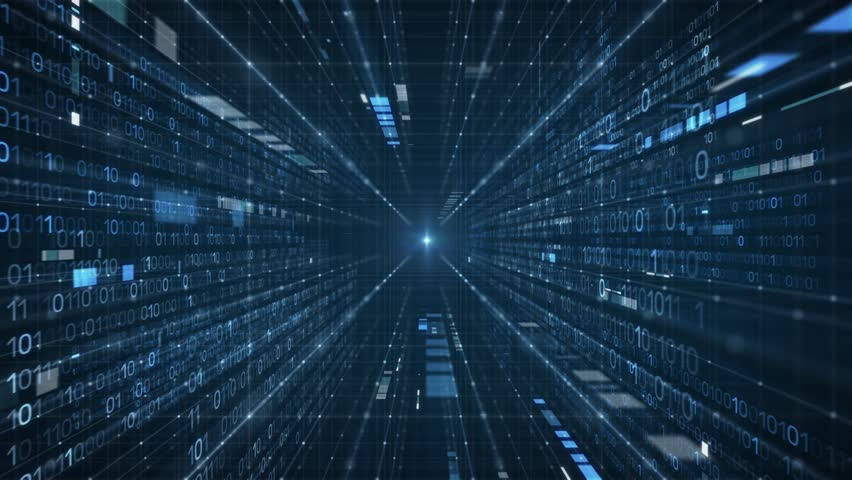 Data Stream Tunnel into Light | Shutterstock HD Video #31868863