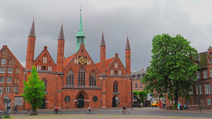 Lubeck Dom cathedral church in Lubeck, Germany