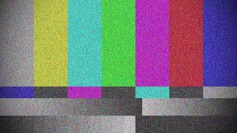 Test color bar, TV Damage, TV Signal Error