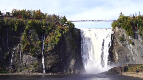 Montmorency Waterfalls,Quebec Canada