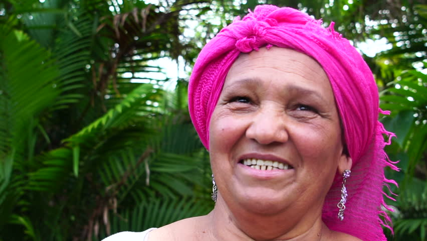 Portrait of Brazilian Woman Smiling #31942843