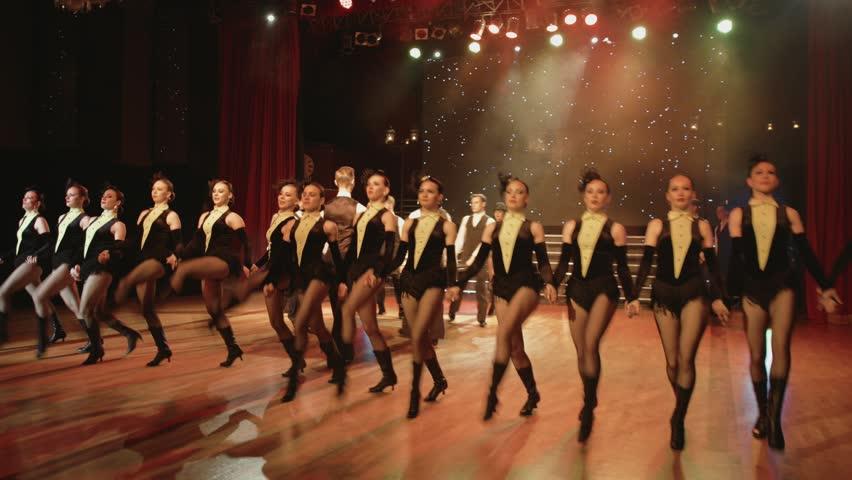 Part of the cabaret dance show | Shutterstock HD Video #31988983
