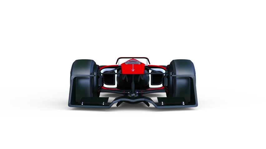 3D CG rendering of a racing car | Shutterstock HD Video #32017423