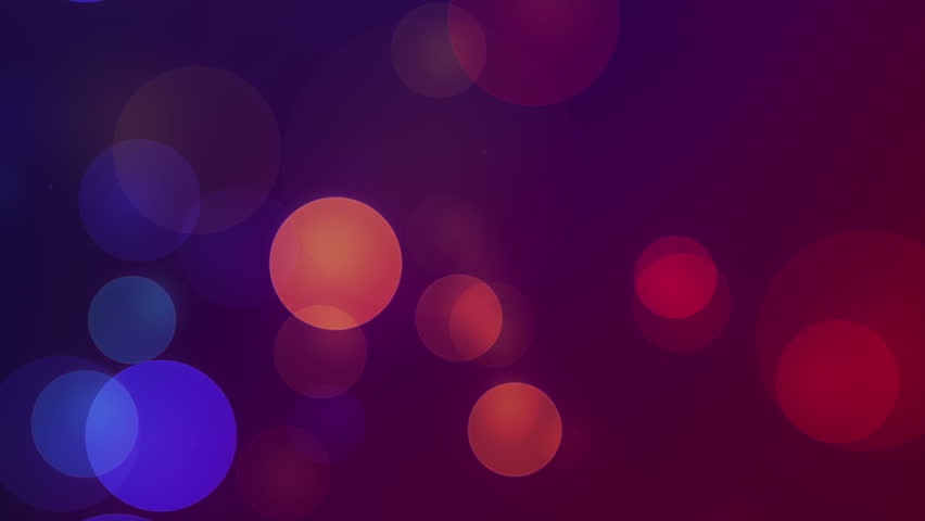 Moodi - Abstract Circles Video Background Loop /// Moodi is a sweet all-purpose animated background showing slowly moving and fading colored dots. Great for projection.