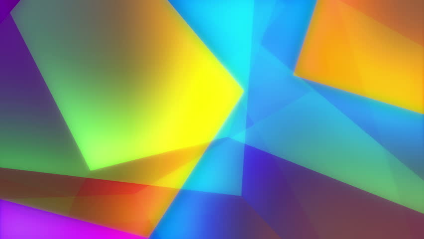 Dariel - Geometric Colorful Video Background Loop /// A very colorful and enjoyable play of moving geometrical shapes.