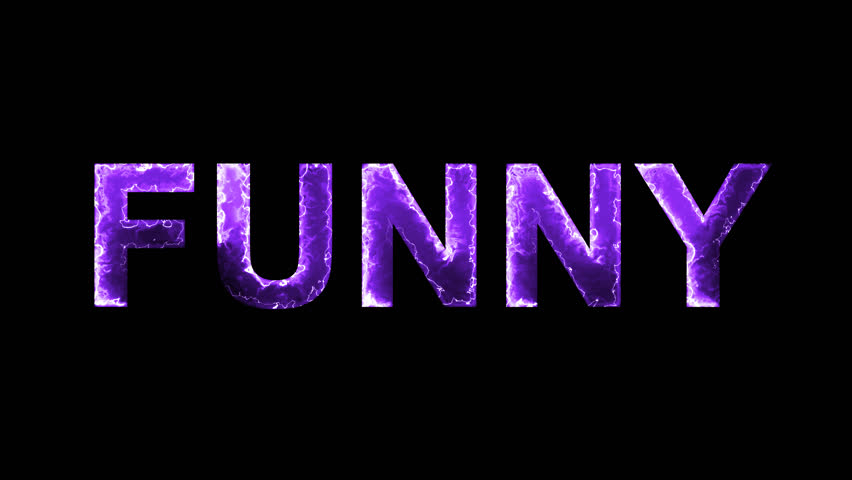 The Word Funny In Letters