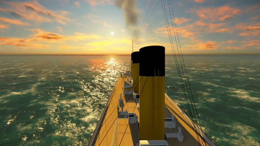 Header of steamship