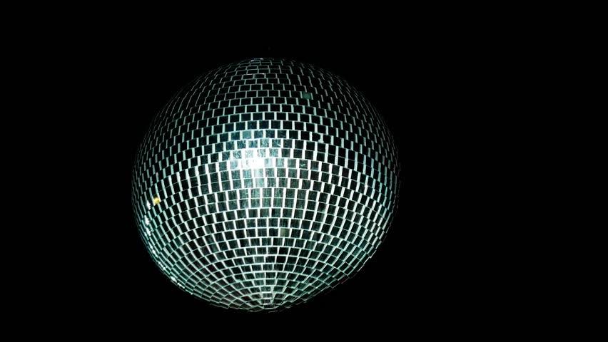Disco mirror ball center, glitter | Shutterstock HD Video #32544193