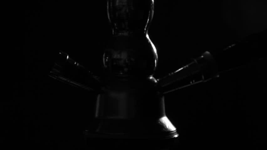 Smoking Hookah Close Up, Vaporized Smoke Blows | Shutterstock HD Video #32599843
