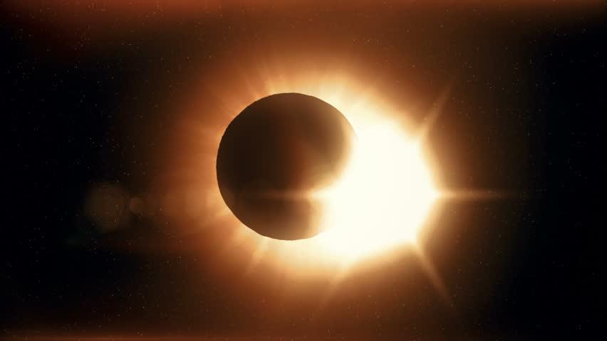 Full solar eclipse the moon closes the sun | Shutterstock HD Video #32600563