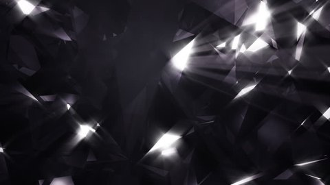 Abstract shining background - loopable 3d animation