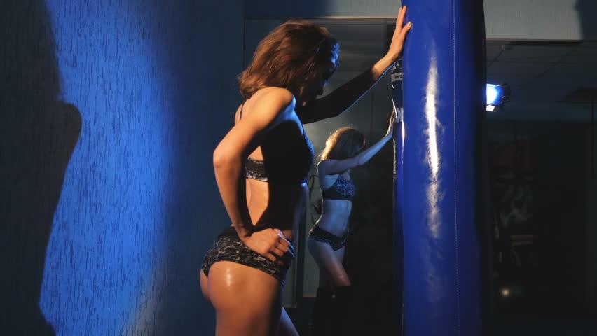 Behavior of a closet lesbian