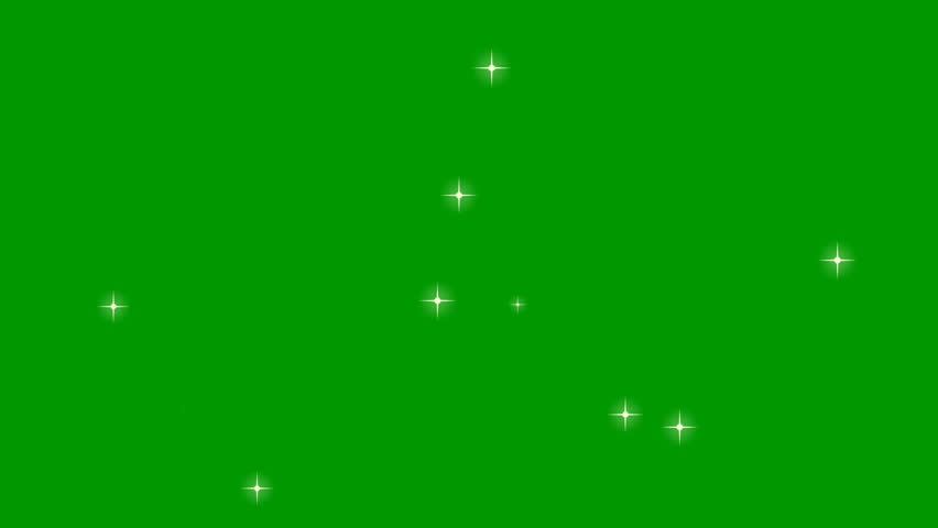 Medium Flickering stars on a transparent background. Can be used as a foreground and as a background. Golden stars sparkle and shine. The asterisks light up and go out. Flashing stars. Alpha channel. | Shutterstock HD Video #32744122