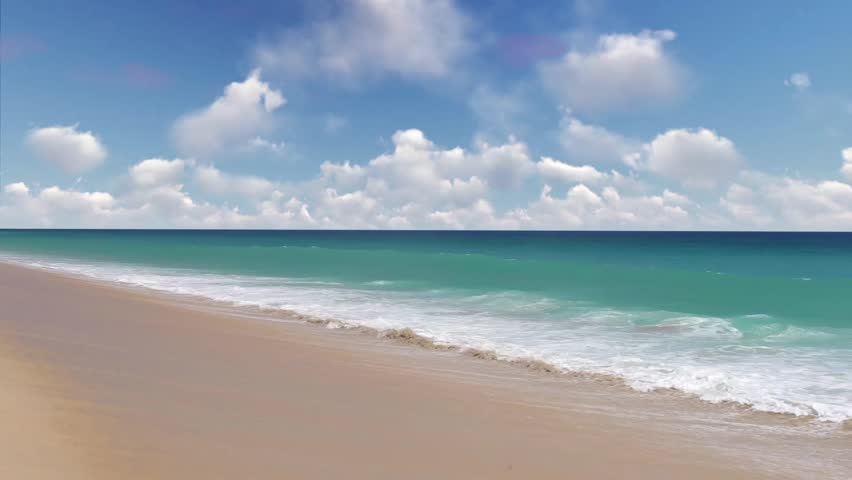 Genial This Is A 1080p Stock Video Of A Beautiful Beach And Tropical Sea. This  Video
