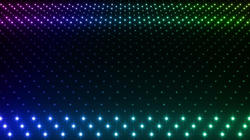 LED Light wall.   Shutterstock HD Video #3283724