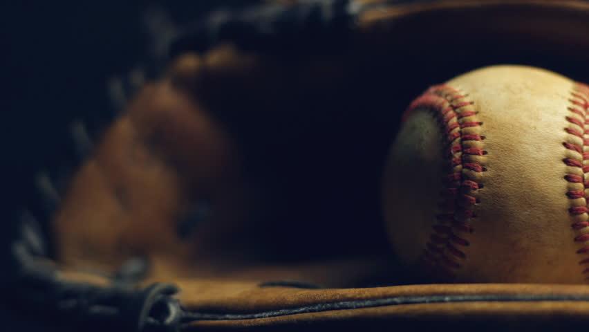 Baseball Glove With Ball