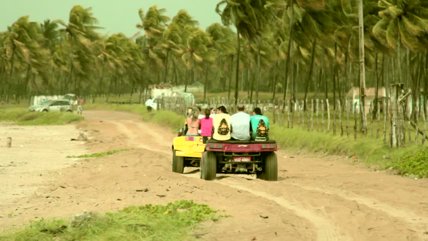 Dune Buggy On the Sand Stock Footage Video (100% Royalty-free) 32957563 |  Shutterstock
