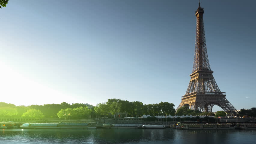 Eiffel tower, Paris. France | Shutterstock HD Video #32995483