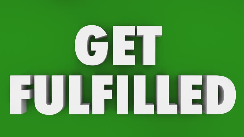 Get Fulfilled Puzzle Hole Complete Total Fulfillment 3d Animation | Shutterstock HD Video #33000565