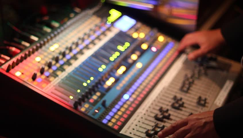 Soundboard Stock Footage Video (100% Royalty-free) 3303023 | Shutterstock