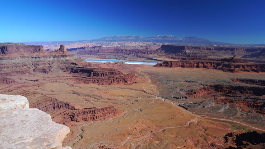 Dead Horse Point State Park, Canyonlands National Park, Utah, Usa, America