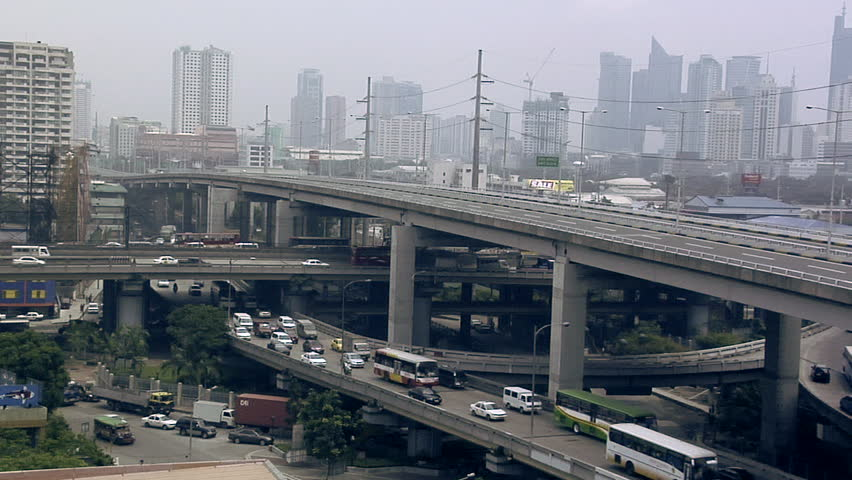 Flyover South Super Highway in Magallanes, Manila, Philippines