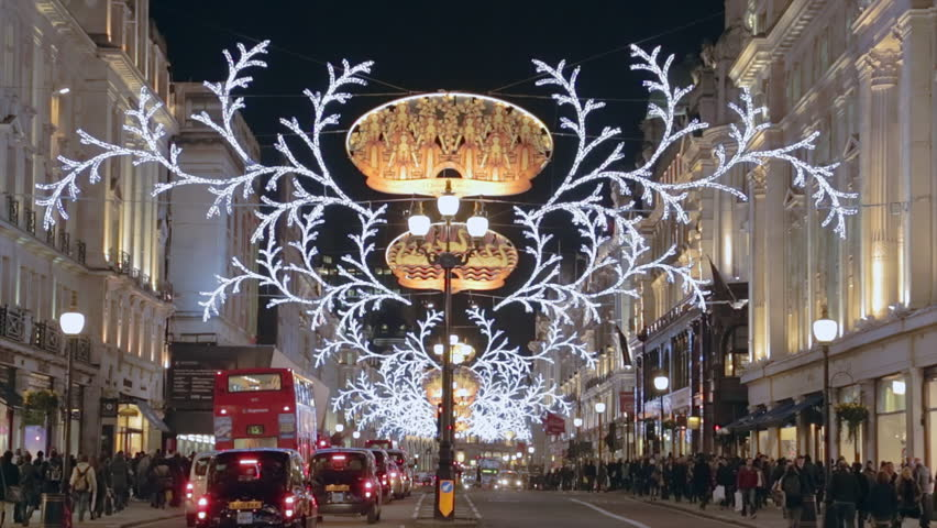 christmas decorations london stock video footage 4k and hd video clips shutterstock - London Christmas Decorations